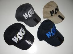 Nike Adult Unisex Adjustable Hat/Baseball Cap Black, Khaki, Navy Blue, & Gray  #Nike #BaseballCap