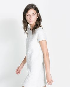Image 2 of DRESS WITH BACK ZIPPER from Zara