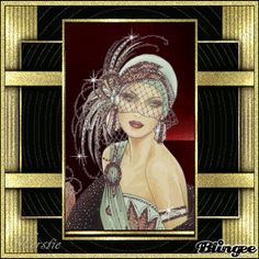 Art Deco Animated Pictures for Sharing Art Deco Illustration, Illustrations Vintage, Art Deco Posters, Vintage Posters, Vintage Art, Art Deco Stil, Art Deco Era, Art Nouveau, Pinup