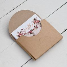 Vintage inspired floral writing set by PeachWolfePaperCo on Etsy