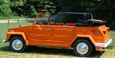 VW Thing. I have always wanted one of these. I love it!  Remember the commercials where it changed looks?