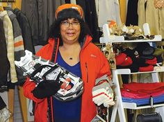Wool, wicking, wind flaps Barrie athletes' winter lingo - From Siberia to south Barrie, Angela Budram has helped folks stay warm — whatever the weather.