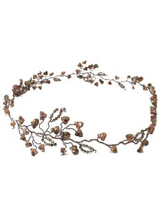 Dainty nova gold, bronze and copper tendrils nestled along delicate branches of Swarovski crystals. A versatile hair vine that can be worn in many ways, including across the forehead and over the hair. Gold Champagne, Wedding Hair Pieces, Hair Vine, Wedding Hair Accessories, Bridal Hair, Headbands, Garland, Vines, Wedding Hairstyles