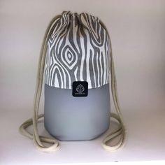 Tenzo Bag - 2016  eco-leather and fabric, handmade 26cm*36,5cm
