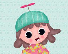 Bamboo Tablet, Wacom Bamboo, Character Illustration, Book Illustration, Illustrations, Unicycle, New Work, Adobe Illustrator, Hello Kitty