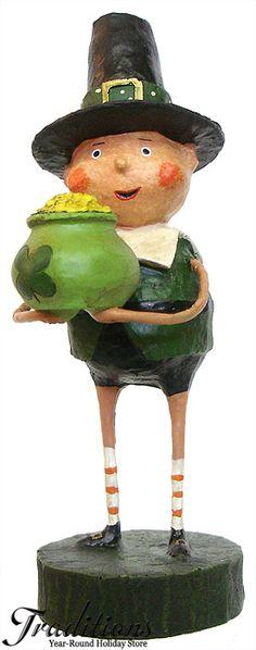St. Patrick's Day Decorations ...Lori Mitchell...Lucky Liam