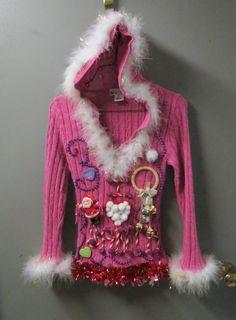 Pixie I love Santa Christmas Fun Girl's by tackyuglychristmas