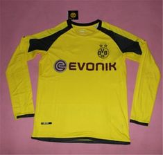 Dortmund 16-17 Season Champions League Yellow LS Soccer Jersey [I91]