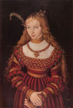 Sybille, Duchess of Saxony (eldest sister of Anne of Cleves, the 4th wife   of Henry VIII)