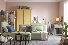 IKEA is the world's leading furniture and home appliance products manufacturer, every year IKEA launched a lot of products for sale worldwide. IKEA has been proved that they always give their bes Ikea 2017 Catalog, Catalogue Ikea, Ikea Inspiration, Hemnes Wardrobe, Furniture Decor, Furniture Design, Murs Roses, Ikea Portugal, Home Interior