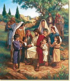 ✿He Loves Children✿ Jesus and the Children