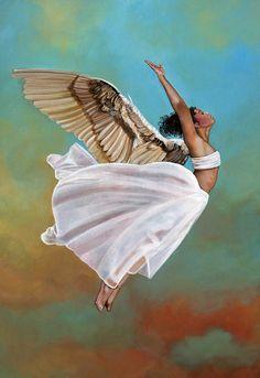 Carol Heyer ~ Angel Art Freedom ~ For Doreen Virtue