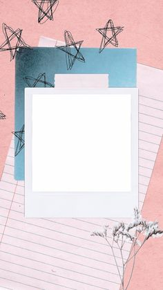 Wallpaper Collage, Framed Wallpaper, Creative Instagram Stories, Story Instagram, Aesthetic Iphone Wallpaper, Aesthetic Wallpapers, Marco Polaroid, Polaroid Picture Frame, Polaroid Collage