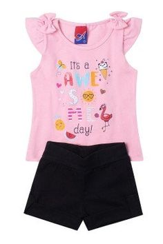 Mommy And Me Outfits, Girly Outfits, Kids Outfits, Summer Outfits, Funky Baby Clothes, Short Niña, Barbie Playsets, Fancy Tops, Girls Pajamas