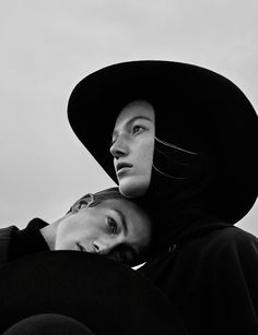 Lou & Niels Schoof in Vogue Ukraine November 2015 by Elizaveta Porodina