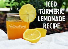 Iced Turmeric Lemonade Recipe