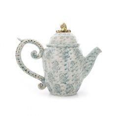 Thistle Tea Pot by Miranda Berrow Ceramics on GIFTLAB