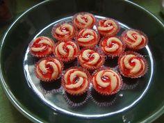 Biskut Rose Tart ~ Resepi Terbaik Mini Cupcakes, Cookie Recipes, Tart, Bakery, Muffin, Food And Drink, Snacks, Cookies, Rose