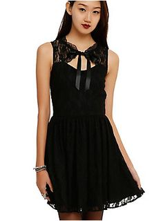 Spin Doctor Black Lace Dress |Hot Topic