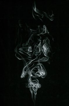 Drawing on black paper.