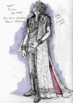 Jesus Christ Superstar (Pilate). NorthShore Music Theatre. Costume design by Gregory A. Poplyk. 2007