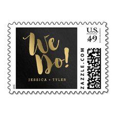 Shining Promise Wedding Postage Stamp
