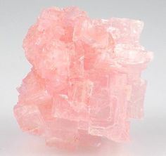 Halite Crystal Cluster from Searles Lake, California