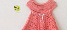 Pattern Crochet dress free with video- this is my next project for my future grand-baby!!