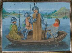 Robert de Vere, the 9th Earl of Oxford abandoned his men at the Battle of Radcot Bridge, he left many of them to the mercy of their enemy and made his cowardly escape by crossing the river, supposedly in disguise, and headed to the Netherlands.