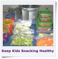 Michelles Charm World: Snack Healthy!  for kids