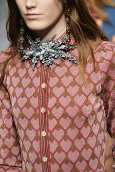 Gucci's Embellished Necklaces