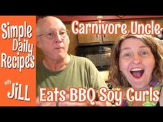 My Carnivore Uncle Tried BBQ Soy Curls