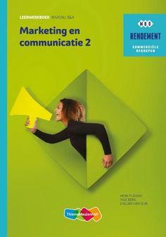 Marketing & communicatie Niveau 3&4 deel 2 Leerwerkboek  Basisboek Marketing en Communicatie 2 is een basisboek dat studenten helpt marketing en communicatie te begrijpen en in perspectief te zien. Belangrijke onderwerpen zoals verschillende aspecten van klantgedrag vormen van offline en online marketing service-aspecten en wet- en regelgeving komen aan bod. Voor de begrippen in dit boek zijn de NIMA definities gebruikt wat het boek ook zeer geschikt maakt ter voorbereiding op NIMA examens…