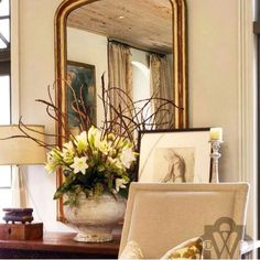 Mirror inspiration from Dana Wolter Interiors
