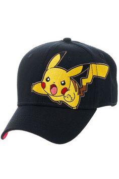 Pokemon Baseball Cap Pikachu    Caps www.detoyboys.nl