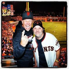 Metalica night at SF Giants
