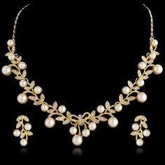 Vintage Inspired Swarovski Crystal Bridal by Voguejewelry4u, $35.99
