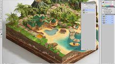 "The making of ""Disney Vacation Club"" digital board game, Piotr Kolus, Le..."