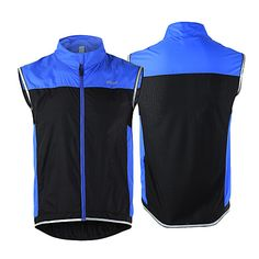 Arsuxeo Cycling Vest Men s Women s Unisex Bike Vest Gilet Windbreaker  Jacket Top Bike Wear Quick 6001b53ea