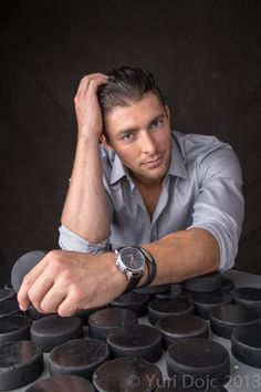Lupul has many pucks. Beautiful Boys, Gorgeous Men, Beautiful People, Maple Leafs Hockey, Ugly Men, Pose For The Camera, Win Or Lose, Toronto Maple Leafs, World Of Sports