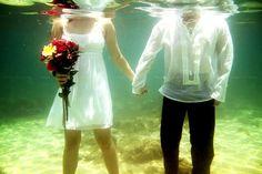 underwater engagement Underwater Photography, Wedding Events, Wedding Photography, Engagement, Beauty, Water Photography, Underwater Photos, Engagements, Wedding Photos