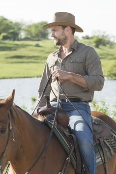 "Joshua Jackson - makes us want to ""Save a Horse"". jjh"