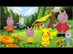 Peppa Pig Talking Toys Poetry Wonderful World Pokémon Song Finger Pikachu Kids Funny Toyo Surprise - YouTube