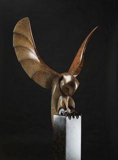 Image result for owl sculpture