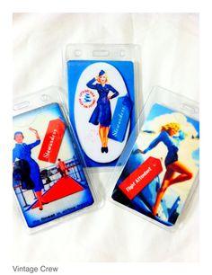 Flight Attendant luggage tags