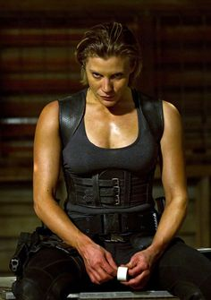 From Riddick (2013) Katee Sackhoff as Dahl
