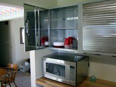 Stainless Steel Kitchen Cabinet!