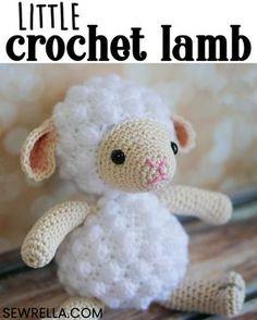 Mesmerizing Crochet an Amigurumi Rabbit Ideas. Lovely Crochet an Amigurumi Rabbit Ideas. Crochet Baby Toys, Easter Crochet, Crochet Gifts, Cute Crochet, Crochet For Kids, Crochet Dolls, Easy Crochet Animals, Crochet Sheep Free Pattern, Crochet Toys Patterns