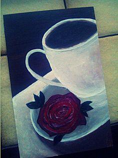 Coffee is always a good ideea #Painting #coffeelover