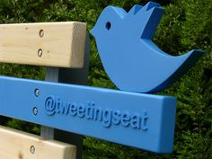 TweetingSeat – Is a park bench with a twitter account